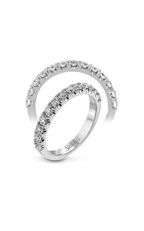 Simon G Passion - 18k white gold 0.75ctw Diamond Wedding Band, LP2374 product image