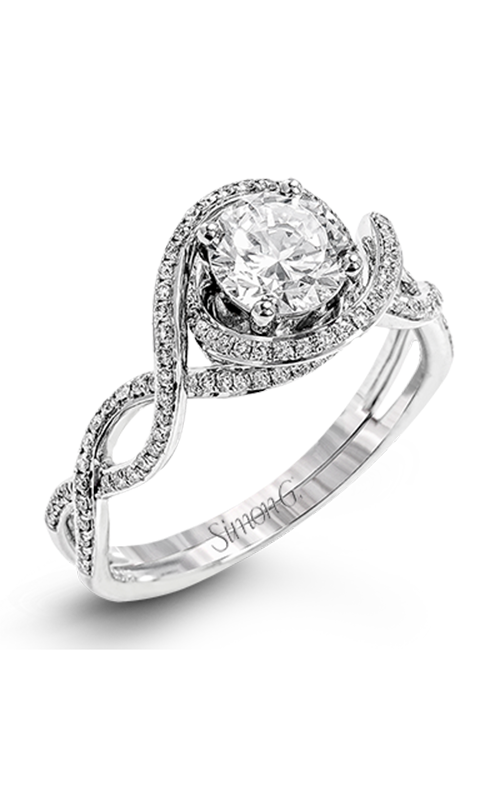Simon G Passion - 18k white gold 0.33ctw Diamond Engagement Ring, LP2304-D product image