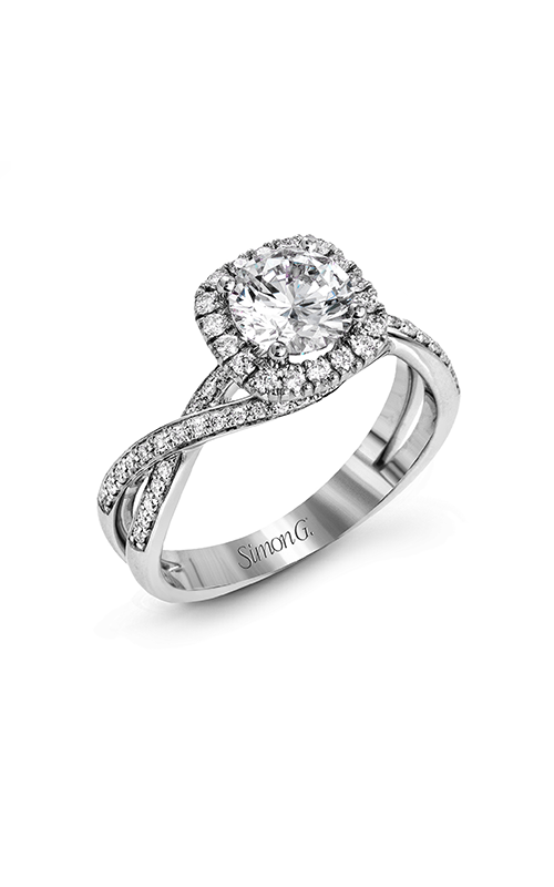 Simon G Classic Romance - 18k white gold 0.29ctw Diamond Engagement Ring, MR1394-A product image