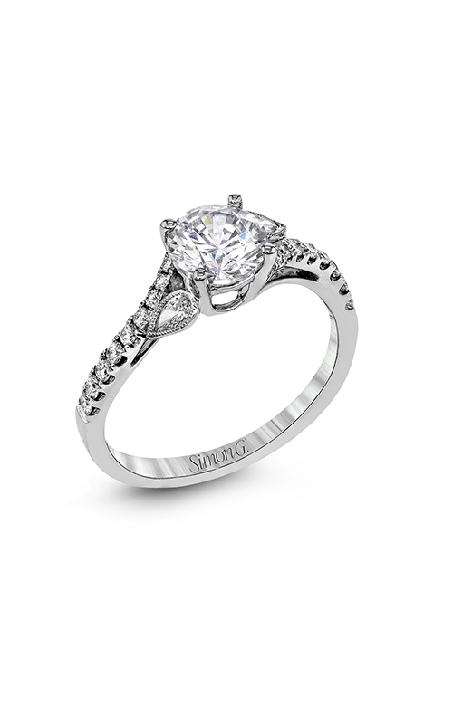 Simon G Garden - 18k white gold 0.30ctw Diamond Engagement Ring, MR2832 product image