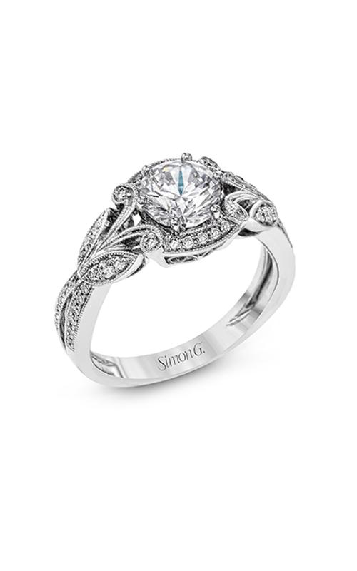 Simon G Garden - 18k white gold 0.28ctw Diamond Engagement Ring, TR629 product image
