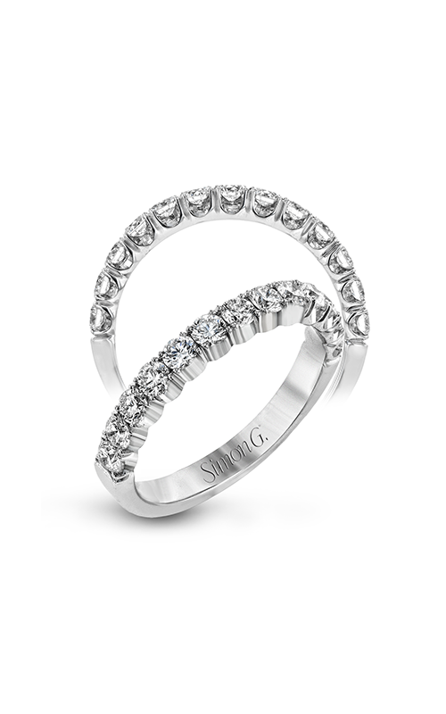 Simon G Passion - 18k white gold 0.75ctw Diamond Wedding Band, LP2339 product image