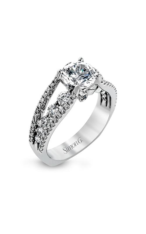 Simon G Modern Enchantment - 18k white gold 0.91ctw Diamond Engagement Ring, MR2248 product image