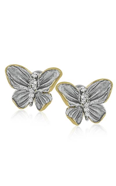 Simon G Organic Allure Earrings DE267 product image