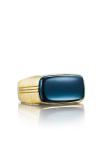 Tacori East-West featuring Sky Blue Hematite Men's Ring MR102Y37