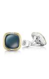 Tacori Cushion Cabochon Cuff Links featuring Sky Blue Hematite  Cufflinks MCL109Y37