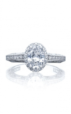 Tacori Reverse Crescent Engagement ring, 2618OV75X55 product image