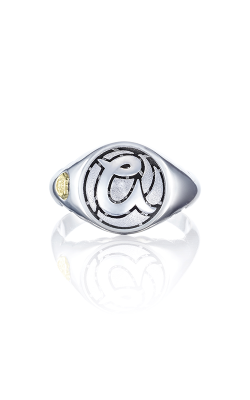 Love Letters Monogram Fashion Ring SR195ASB product image