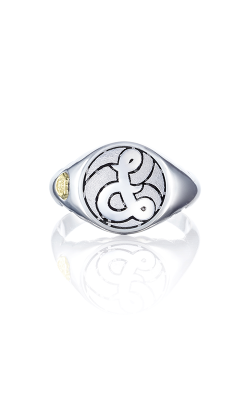 Love Letters Monogram Fashion Ring SR195DSB product image