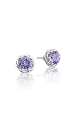 Tacori Crescent Crown Earrings SE10501