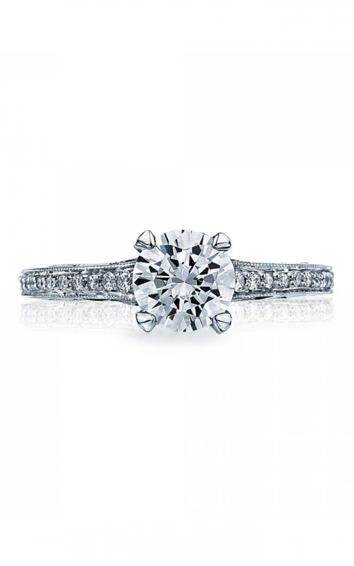 Tacori Sculpted Crescent Engagement ring 58-2RD65 product image