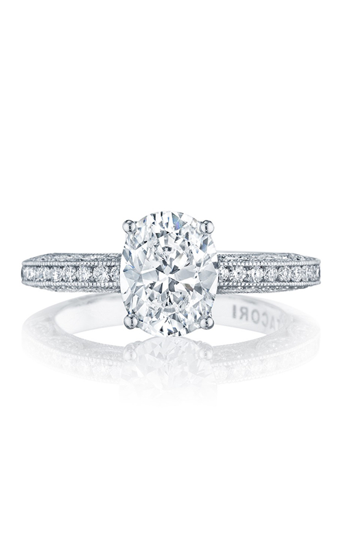 Tacori Classic Crescent Engagement ring HT2553OV9X7 product image