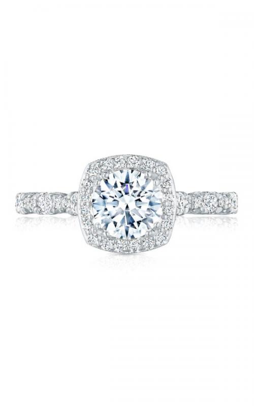 Tacori Petite Crescent Engagement ring HT2560CU65PK product image
