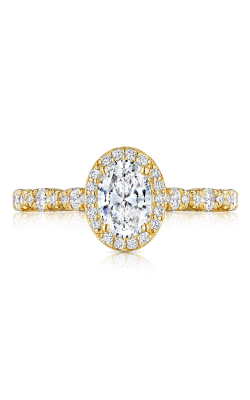 Tacori Petite Crescent Engagement ring HT2560OV7X5Y product image