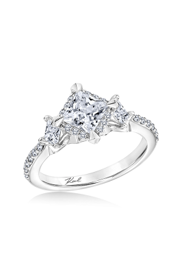 KARL LAGERFELD PYRAMID Engagement Ring 31-KA126ECP-E.00 product image