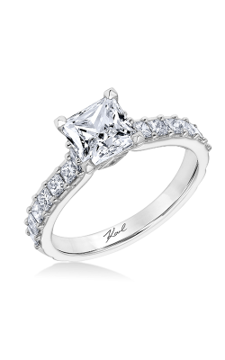 KARL LAGERFELD PYRAMID Engagement Ring 31-KA128GCP-E.00 product image