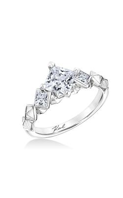 KARL LAGERFELD PYRAMID Engagement Ring 31-KA132GCY-E.00 product image