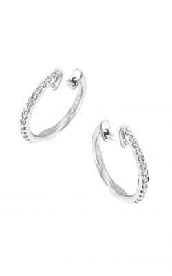 KC Designs Diamond Mini Hoop Earrings E3705 product image