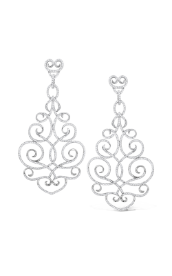 KC Designs Diamond Large Swirl Earrings E4091 product image