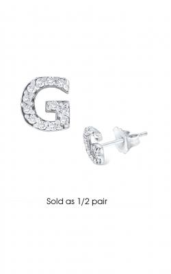 KC Designs Initials Earring E3171-G product image
