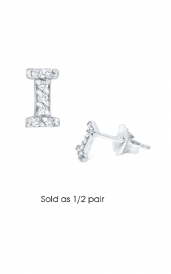 KC Designs Initials Earring E3171-I product image