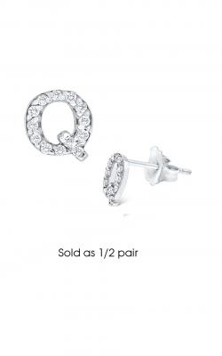 KC Designs Initials Earring E3171-Q product image