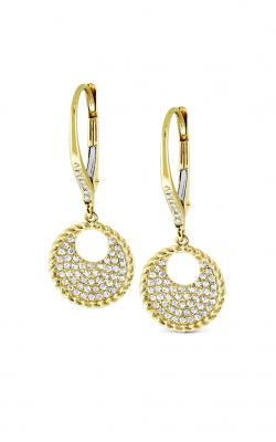KC Design Diamond Circle Earrings E8357 product image