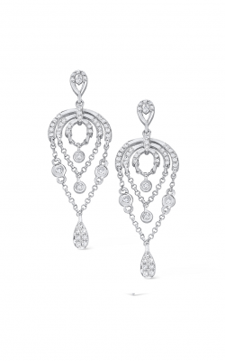 KC Designs Gold and Diamond Chandelier Earrings E7211 product image