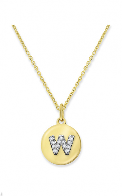 KC Designs Mini Disc Necklace N9640-W product image
