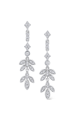 KC Designs Floral Inspired Drop Earrings E8864 product image