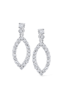 KC Designs Marquis Shape Statement Earrings E8783 product image