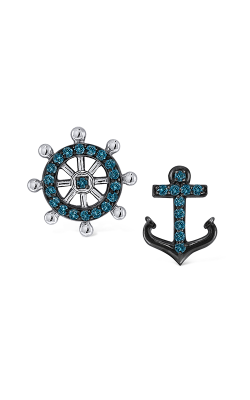 KC Designs Mix Match Nautical Earrings E8787 product image