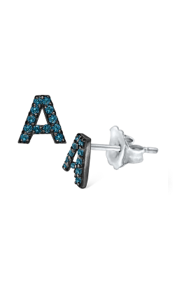 KC Designs Diamond Fashion Earring E3171-A-BLU product image
