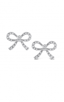 KC Designs Diamond Mini Bow Earrings E12983 product image