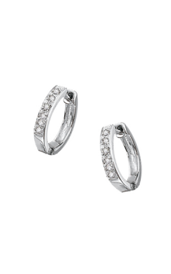KC Designs Diamond Mini Hoop Earrings E1750 product image