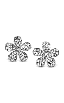 KC Designs Diamond Floral Earrings E3628 product image