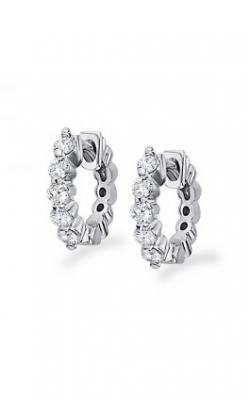 KC Designs Diamond Mini Hoop Earrings E6088 product image