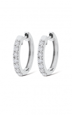 KC Designs Diamond Mini Hoop Earrings E6140 product image