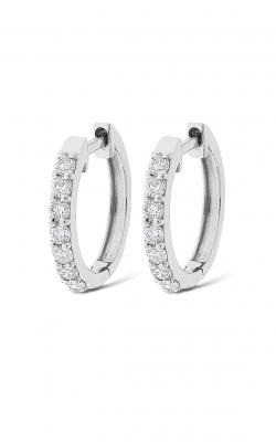 KC Designs Diamond Mini Hoop Earrings E6140 product image