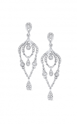 KC Designs Gold and Diamond Chandelier Earrings E7212 product image