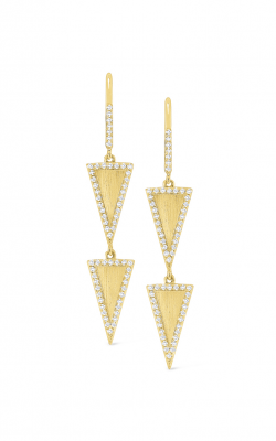 KC Designs Gold and Diamond Geometric Earrings E7224 product image