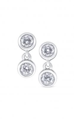 KC Design Diamond Two Stone Earrings E7833 product image