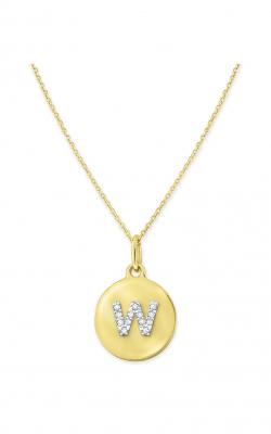 KC Designs Mini Disc Necklace N11400-W product image