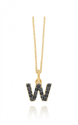 KC Designs Baby Block Necklace N3760BK-W product image