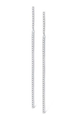 KC Designs 14K Diamond Line Earrings E5261 product image