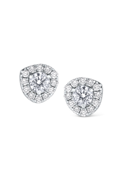 KC Designs 14K Gold and Diamond Stud Earrings E1710 product image