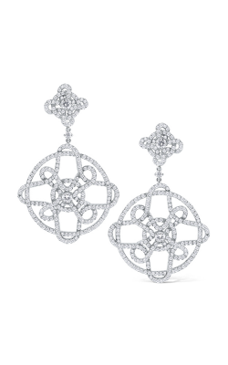 KC Designs 14K Gold and Diamond Statement Earrings E1009 product image