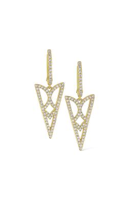 KC Designs 14K Diamond Geometric Earrings E1139 product image