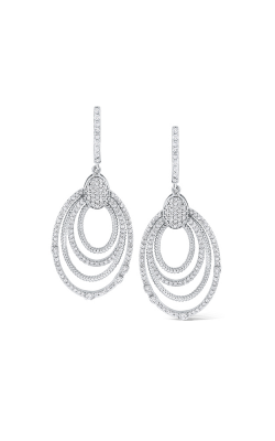 KC Designs 14K Diamond Geometric Statement Earrings  product image