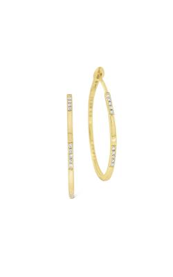 KC Designs Diamond Hoop Earrings E1071 product image